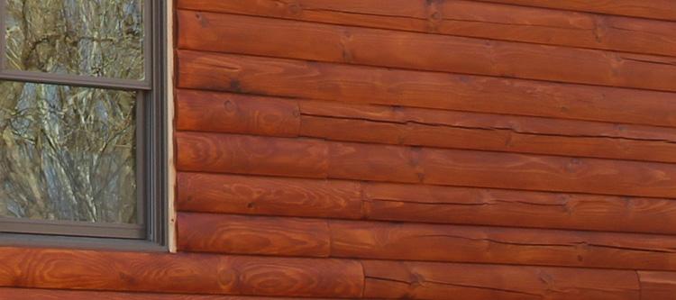 Log Home Face Restoration